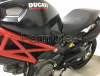 Ducati monster 696 grigia