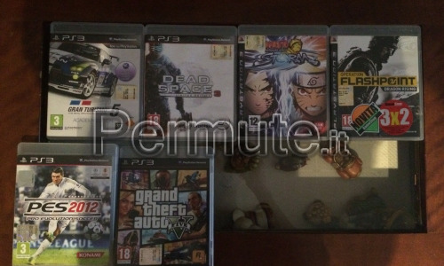 Playstation 3 120 gb con 6 giochi