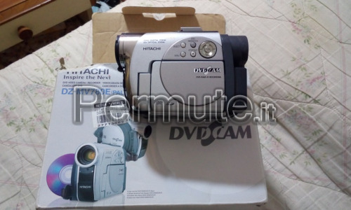 videocamera digitale hitachi