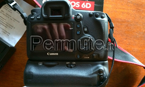 CANON EOS 6D CAMERA+CANON 24-105MM LENS