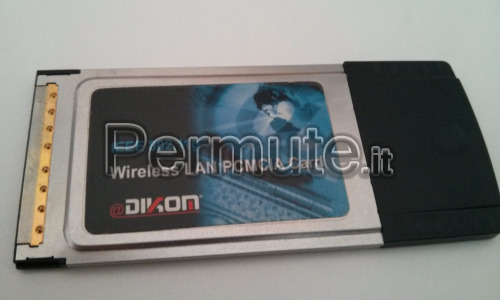 Scheda Wireless PCMCIA per notebook