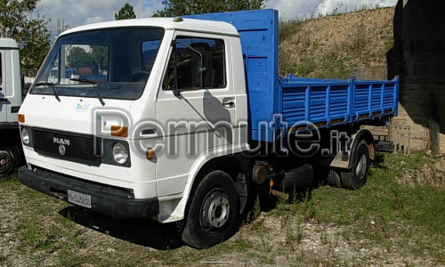 Camion MAN 10.136 rib. Trilaterale