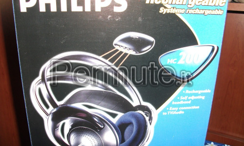 cuffie PHILIPS HC 200 rechargeable