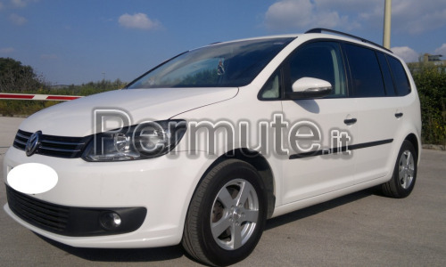 Volkswagen Touran 1.6,105cv,bluemotion,2012