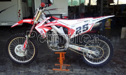 honda crf 450 r cross 2012
