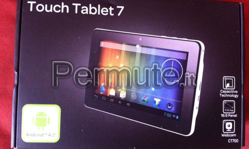 tablet 7 ct700 carrefour android 4.2 wifi