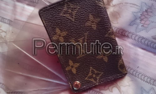 porte carte di credito Louis Vuitton originale