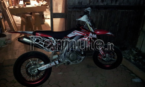 honda crf 450 supermotard 2007