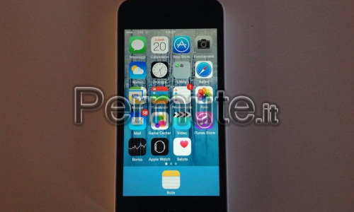 iPhone 5c bianco 8gb