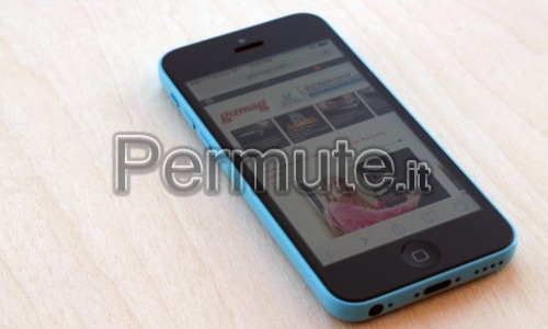 iPhone 5c 8gb azzurro