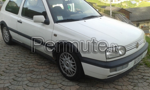 Golf III 1.6 GT special 101 cv clima airbag