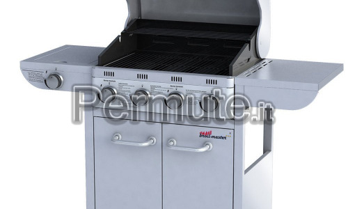 BBQ BARBECUE A gas 4 piu 1 bbq BROIL MASTER