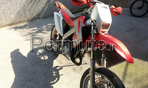 HM 50 motard derapage con modifica top 85 del 2006 con 12000 Km
