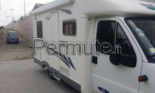Vendo camper semi integrale