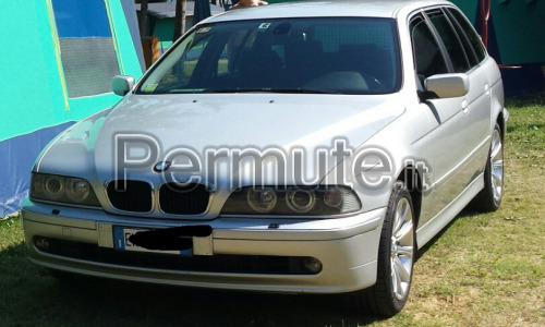 BMW 525D TOURING E39 MANUALE