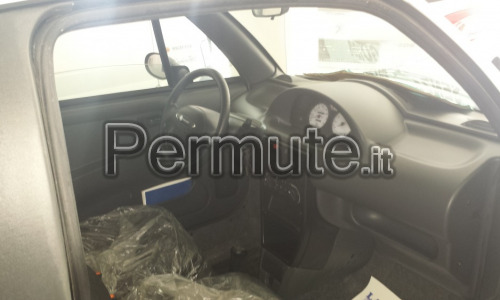 pick up 500 diesel interni in pelle