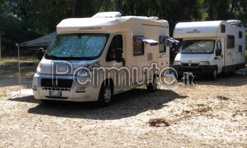 Semintegrale ducato 2300 Fleurette anno 2010 full optionals