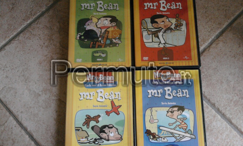 dvd mr.bean animati+film
