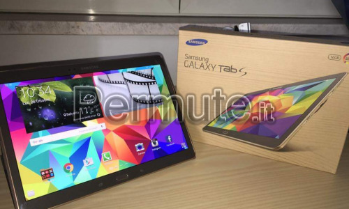Galaxy Tab s 10.5 bronze