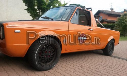 Pick up vw allestito