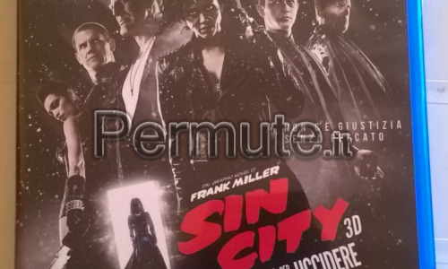 Film Sin City in alta definizione 2D e 3D