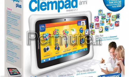 tablet clem pad per bambini