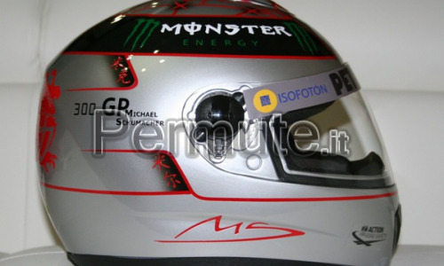 Casco Replica Scumacher Anniversary