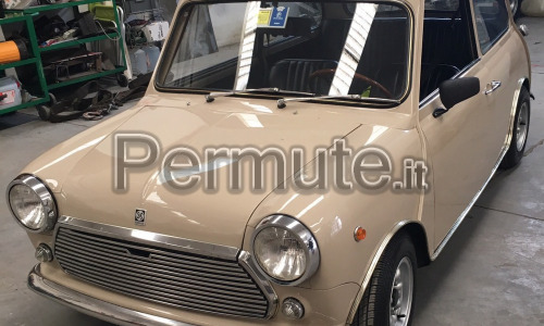 Vendo/scambio mini matic mk3 1970