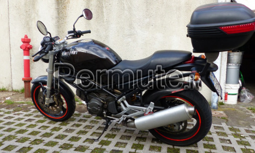DUCATI MONSTER 600 NERO METALLIC