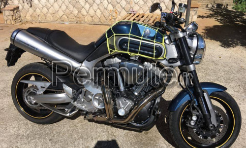 Yamaha mt-01 rock slate 2007 stage 1 AKRAPOVIC