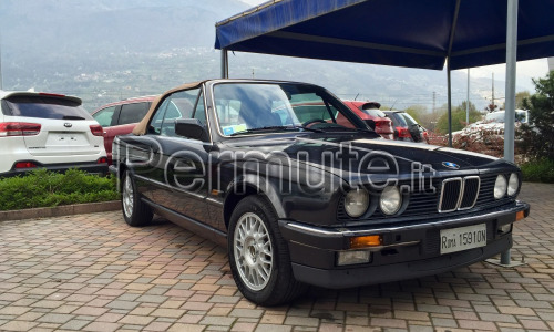BMW 320 cabrio epoca 1986. Bella e in ordine 97.000 km targhe e libretto originale