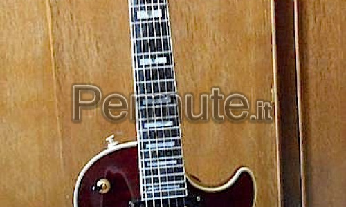 Epiphone Prophecy Les Paul Custom Plus GX + Gibson SGJ