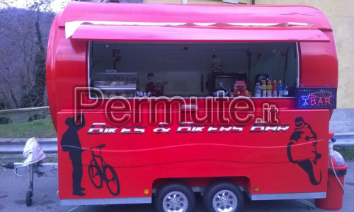 rimorchio per streetfood