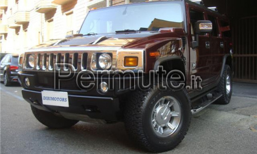 Scambio hummer h2
