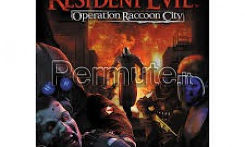 Scambio Resident Evil Operation Racoon City
