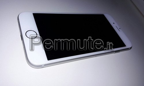 iPhone 6 16 giga bianco retro silver