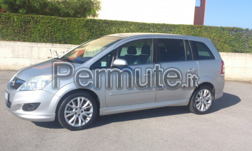Opel Zafira Turbo Metano 150 cv più moto BMW r1200gs