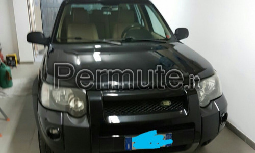Land Rover freelander restailing