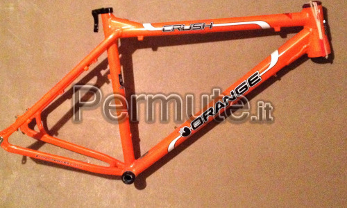 Frameset Orange Crush 26 + forcella Fox Vanilla 140