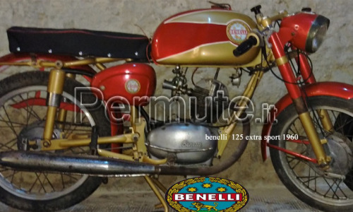 Benelli 125 4t extra sport 1960