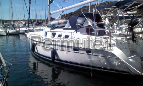 cabinato a vela Hunter 41DS