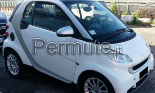 Permuto smart fortwo 2008 81 cv turbo