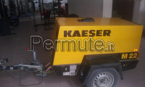 motocompressore kaeser