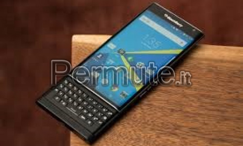 Blackberry priv acquistato a novembre 2016