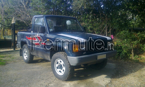 vendo o permuto isuzu trooper pick up anno 1988 iscritta asi