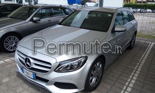 Mercedes classe c station wagon 220 automatico sport