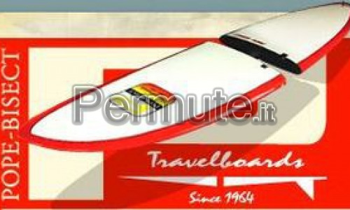 """Rarissima Pope Bisect Harbour Surfboard 9'6"""""""