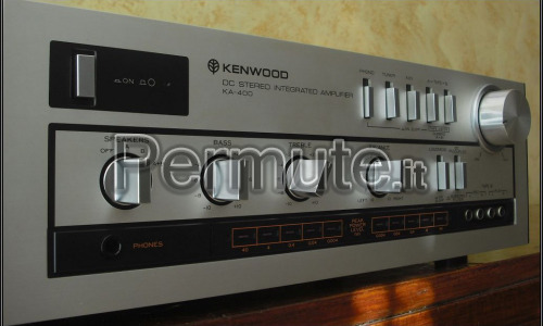 Amplificatore vintage Kenwood