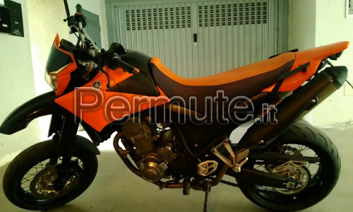 Scambio Jamaha xtx supermotard ultimo modello del 2008 super accessoriata