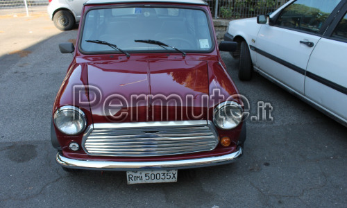 Auto d'epoca Mini Minor Austin Rover